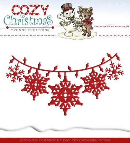 YCD10036 ~ Cozy Christmas ~ Christmas Lights ~ Yvonne Creations